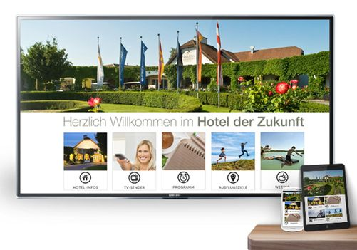 goingsoft HOTAINMENT auf Smart-TV, Mobile & IPad